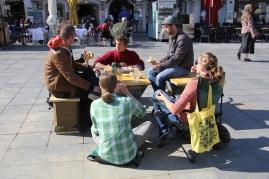 Picknick am Hauptplatz ...
