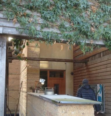 das erste lasttragende Wohnhaus von Martin Rauch in Rankweil...