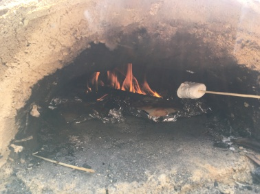 ... in dem neben Pizzen auch Marshmallow gemacht wurden ...